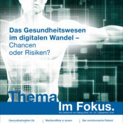"""Publikation: M. Gadebusch Bondio: """"Digitalisierung der Medizin"""""""