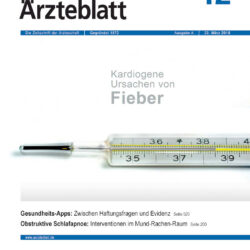 "Publikation: M. Gadebusch Bondio und T. Bruni: ""Diagnose-Apps. Wenig Evidenz"""