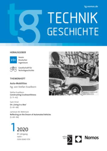 """Neuerscheinung: TG-Sonderheft """"Auto-Mobilities"""", hg. von Stefan Esselborn"""