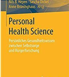 """Publicationen: S. Dickel: """"Infrastruktur, Interface, Intelligenz"""" & """"Was ist Personal Health Science?"""""""